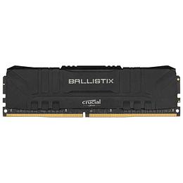 Memoria Ram Gamer Crucial Ballistix 8gb 3600mhz Ddr4 Negra