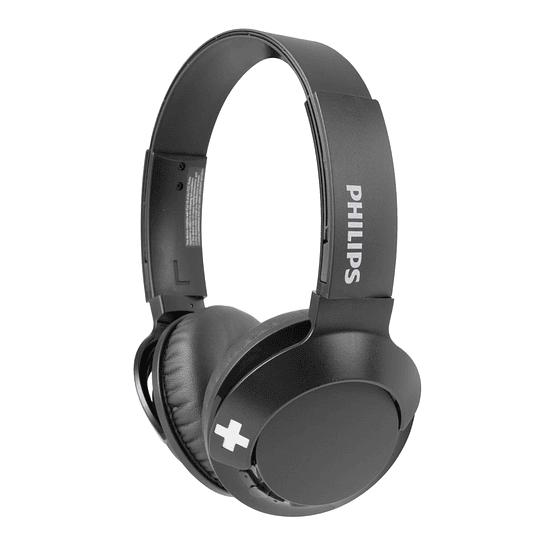 Audífonos Bluetooth Philips BASS+ SHB3075 Negro