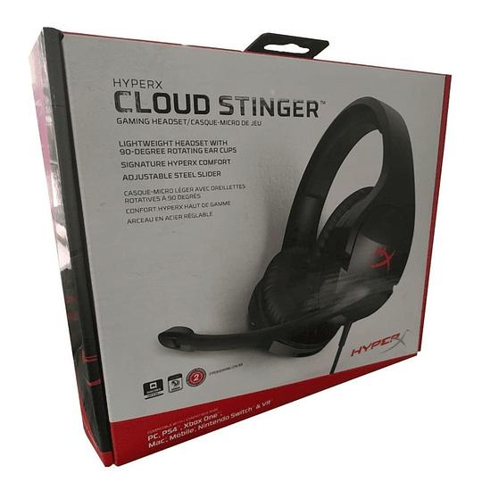 Audífono Gamer Hyperx Cloud Stinger