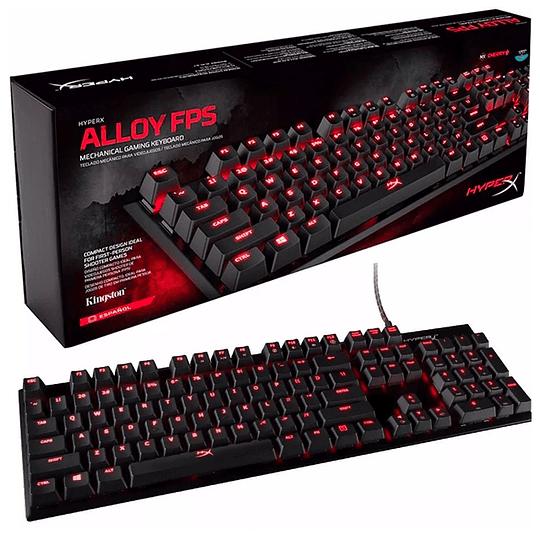 Teclado Gamer Mecanico HyperX Alloy PFS Cherryblue