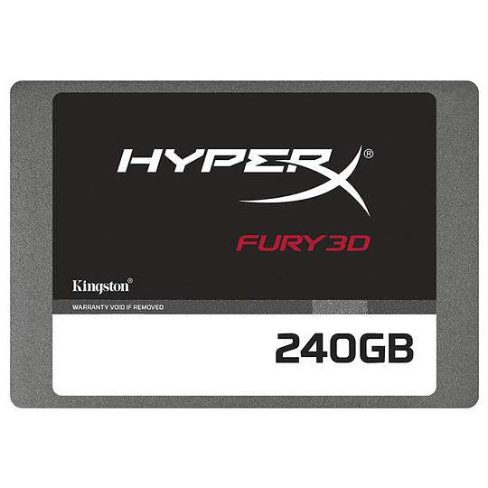 Disco Estado Solido Ssd Gamer Hyperx Fury 3d 240gb