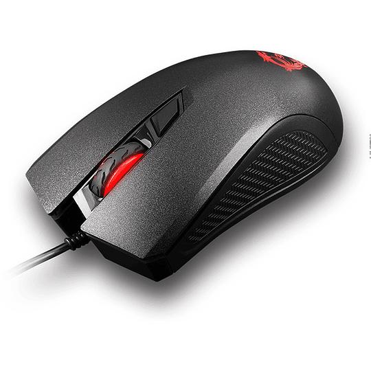 Mouse Gamer Óptico Msi Clutch Gm10 2400dpi