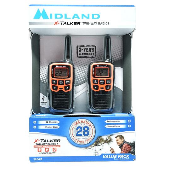 Kit Walkie Talkie Midland X-talker T51vp3