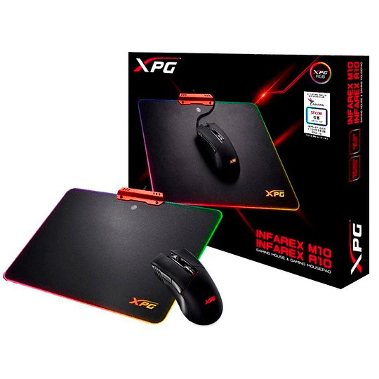 Kit Gamer Mouse M10 Mousepad R10 Xpg Adata