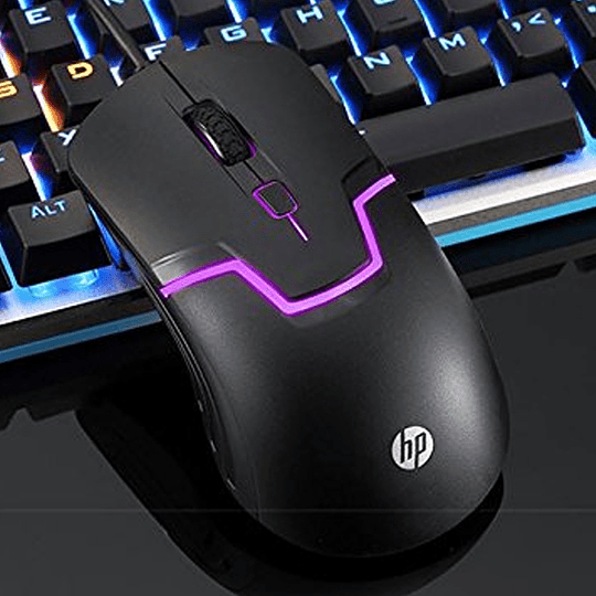 Mouse Gamer Optico Hp Led M100