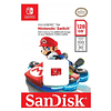 Tarjeta Micro Sd Sandisk Nintendo Switch 128gb