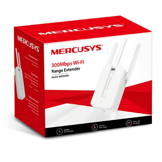 Extensor Repetidor Amplificador 300mb Wifi Mercusys Mw300re