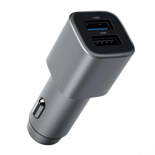 Cargador De Auto Quick Charge 3.0 Dual Nokia 1a21m9600va