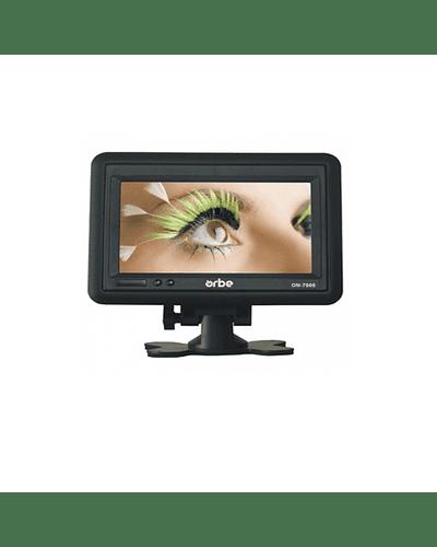 "Monitor LCD panorâmico portátil de 7 """