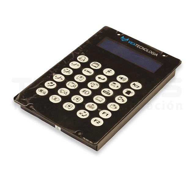 Teclado Multiplex Vex (Dimelthoz DL 202)