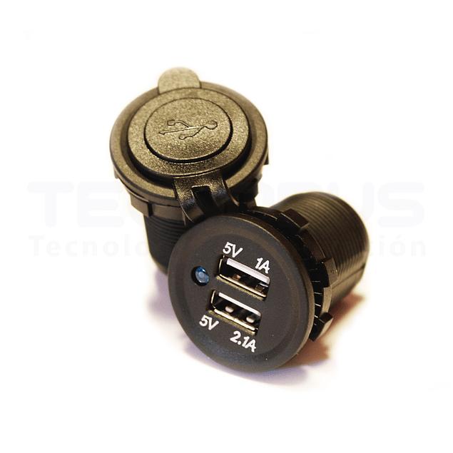 Carregador USB duplo