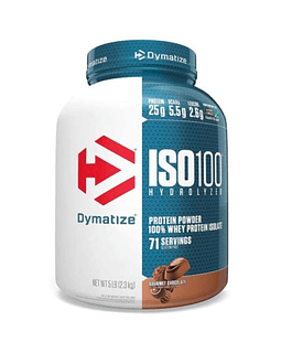 PROTEINA ISO 100 5 LBS DYMATIZE.