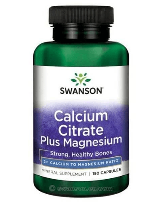 CALCIUM CITRATE PLUS MAG 150 CAPS.