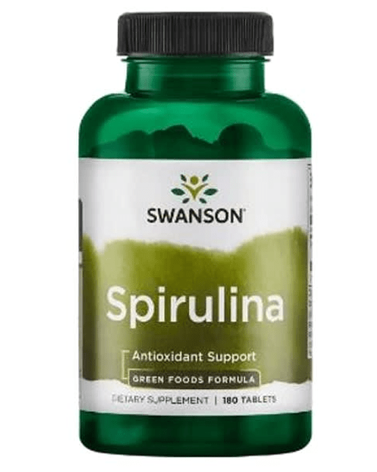 GREENS SPIRULINA 500 MG 180 TABS.