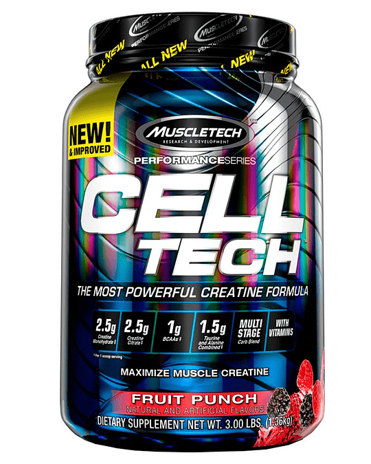 CELL TECH, MUSCLETECH (3 Lb)