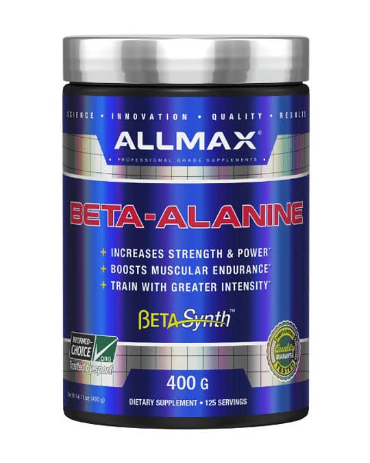 ENERGIZANTE BETA-ALANINA 400 GRS ALLMAX.