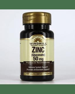 ZINC 50 MG / 100 TABS.