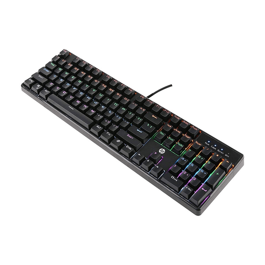 Teclado Gamer Mecánico HP GK320 (USB, RGB, Anti-ghosting, Español) - Image 5