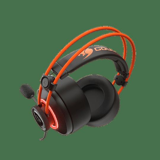 Audífono Cougar Immersa Pro Prix, RGB, 7.1 Envolvente, Control multimedia, Cougar UIX System - Image 3