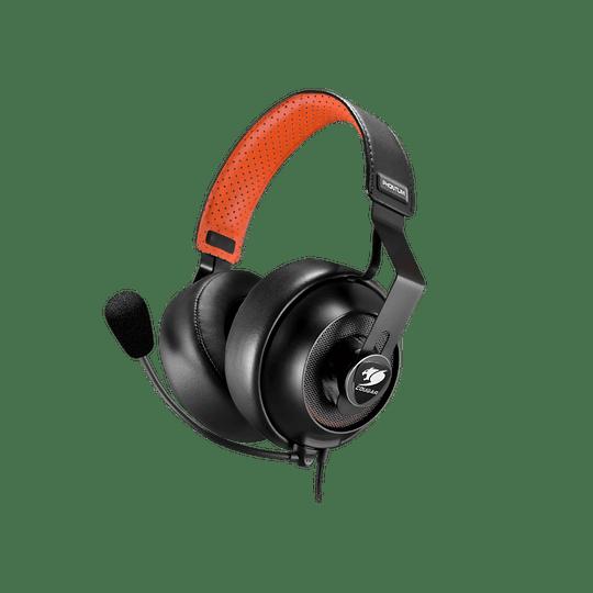 Audifonos Gamer Cougar Phontum S Black Jack 3.5mm - Image 1