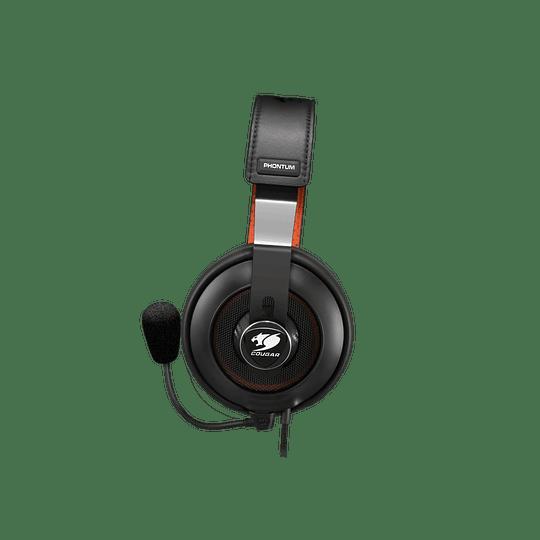 Audifonos Gamer Cougar Phontum S Black Jack 3.5mm - Image 3