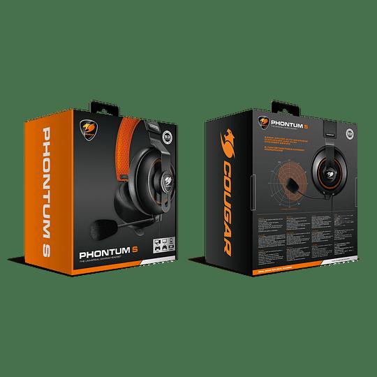 Audifonos Gamer Cougar Phontum S Black Jack 3.5mm - Image 6