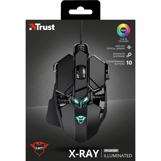 Mouse Gamer Trust X-ray Gxt 138 -pc-ps4-xbox One - Image 6