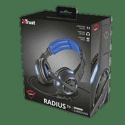 Audífonos Gamer Gxt 350 Radius 7.1