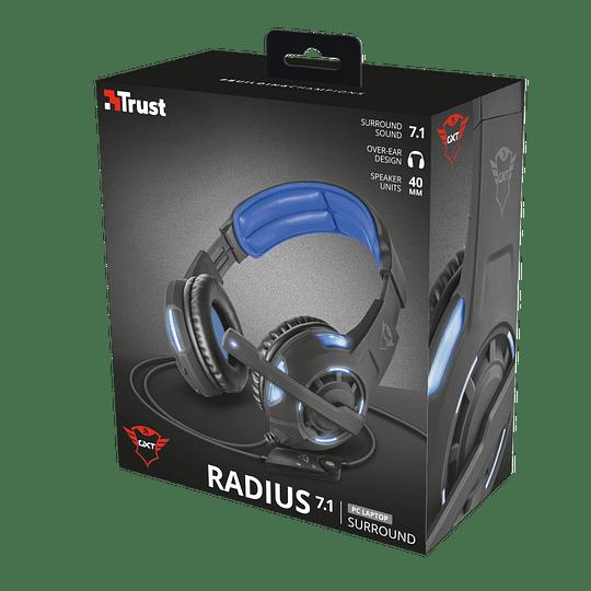 Audífonos Gamer Gxt 350 Radius 7.1 - Image 1