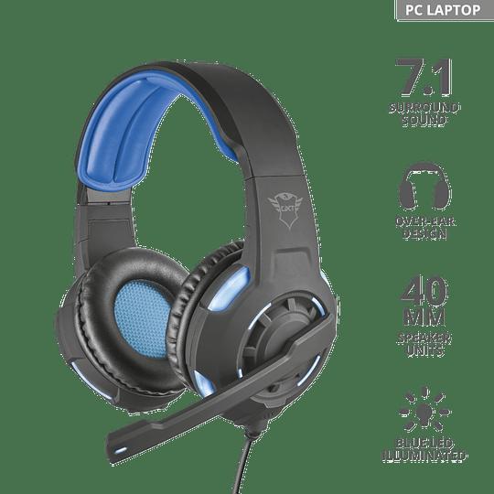 Audífonos Gamer Gxt 350 Radius 7.1 - Image 2