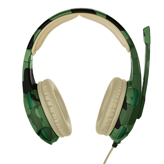 Audifonos Gamer Radius Gxt 310c Jungle Trust Pc/ps4/xbox/switch - Image 1
