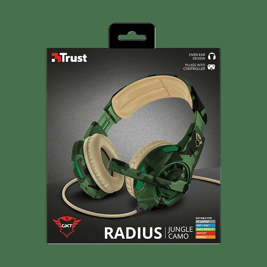 Audifonos Gamer Radius Gxt 310c Jungle Trust Pc/ps4/xbox/switch - Image 2