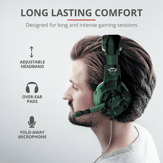 Audifonos Gamer Radius Gxt 310c Jungle Trust Pc/ps4/xbox/switch - Image 8