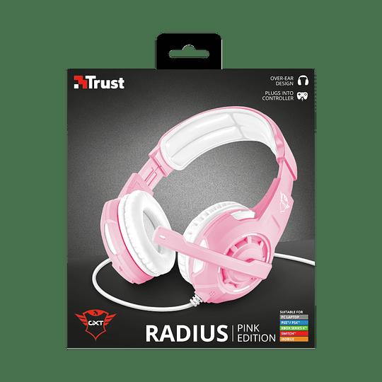 Audífonos Gamer Radius Pink Gxt310p Trust c/ps4/xbox/switch - Image 3