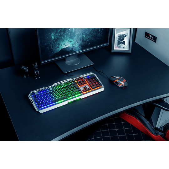 Kit Gaming GXT 845 Teclado Mouse Tural Trus - Image 9