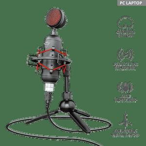 Micrófono Gaming Pc Gxt 244 Buzz Usb Streaming