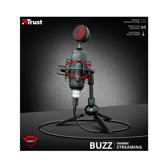 Micrófono Gaming Pc Gxt 244 Buzz Usb Streaming - Image 6