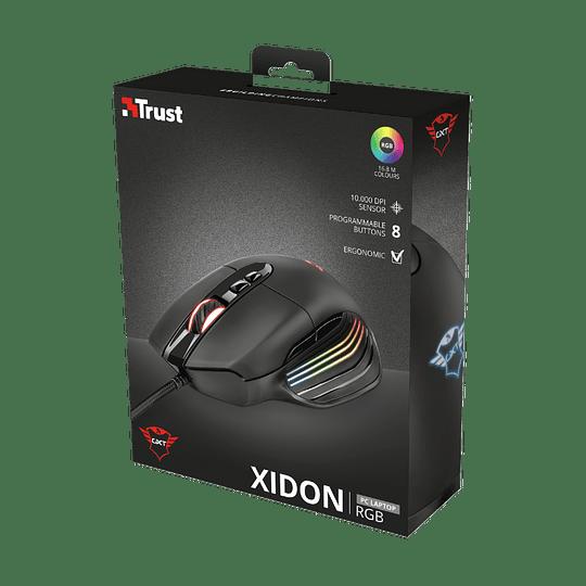 Mouse Gamer Trust Gxt 940 Xidon 10000 Dpi 8 Botones Led Rgb - Image 7