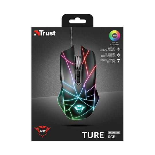 Mouse Gaming Trust Ture Gxt 160x Rgb Led - Image 13