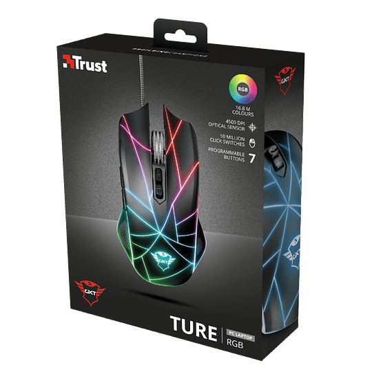 Mouse Gaming Trust Ture Gxt 160x Rgb Led - Image 14