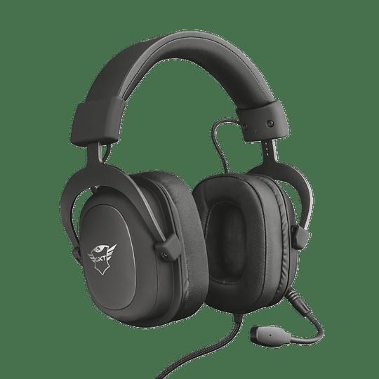 Audifono Gamer Trust Zamak Premiun Headset Gxt 414 - Image 1