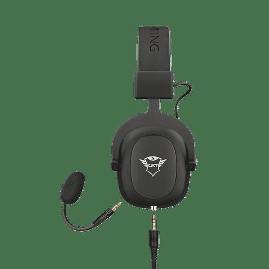 Audifono Gamer Trust Zamak Premiun Headset Gxt 414 - Image 3