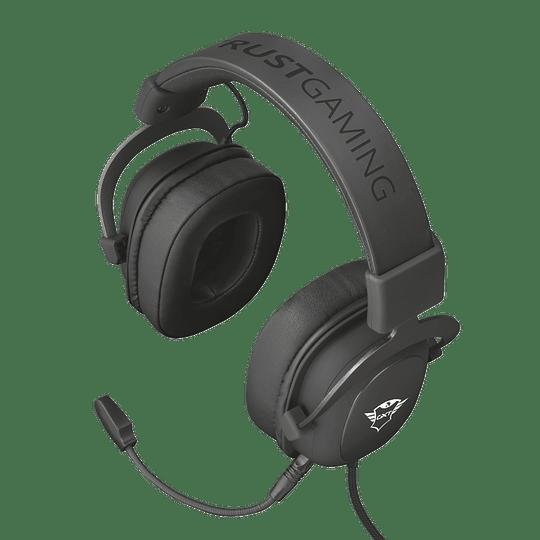 Audifono Gamer Trust Zamak Premiun Headset Gxt 414 - Image 5