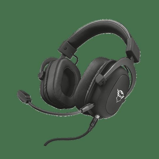 Audifono Gamer Trust Zamak Premiun Headset Gxt 414 - Image 8