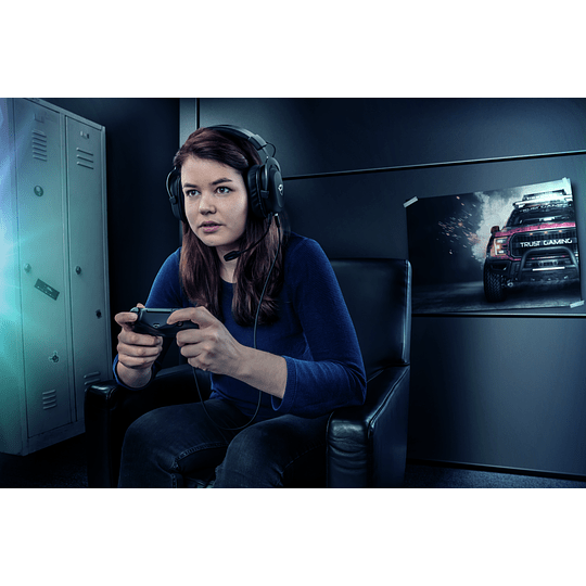 Audifono Gamer Trust Zamak Premiun Headset Gxt 414 - Image 10