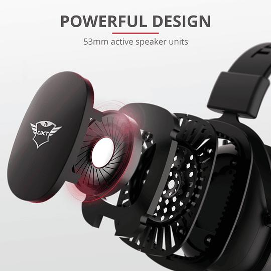 Audifono Gamer Trust Zamak Premiun Headset Gxt 414 - Image 14