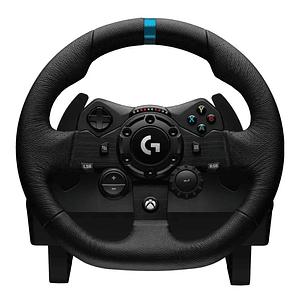 Volante Logitech G923 TRUEFORCE para Xbox One, Diseño Premium, Doble Embrague, Pedales incluidos