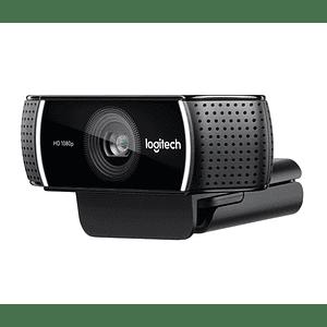 Webcam Logitech C922 Pro Stream, Full HD 1080p USB, streaming alta calidad Twitch y YouTube