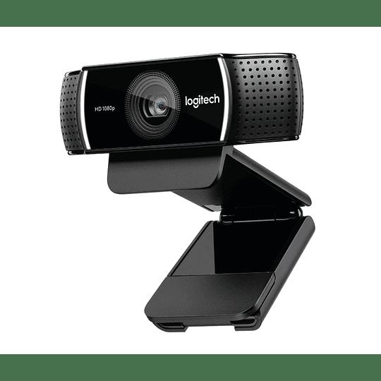 Webcam Logitech C922 Pro Stream, Full HD 1080p USB, streaming alta calidad Twitch y YouTube - Image 3