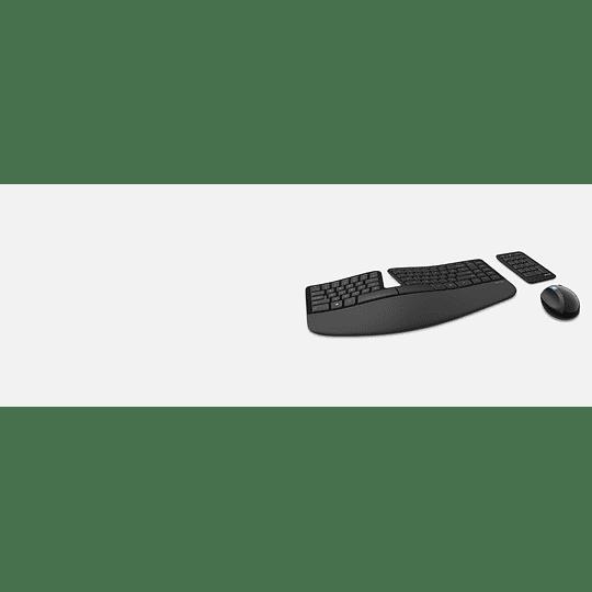 Kit Microsoft Sculpt Ergonomic Desktop Teclado Numpad Mouse - Image 7